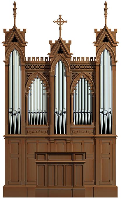 Organ of the Crypt of the Sagrada Familia